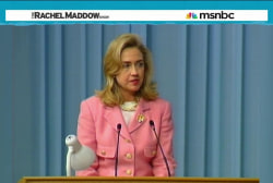 History shows Clinton hard to intimidate