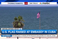 U.S. Embassy in Cuba opens after 54 years