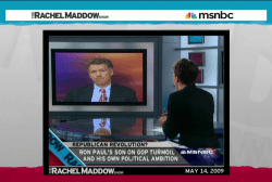 When Rand Paul still liked the Maddow show