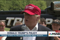 What would Trump's policy plans look like?