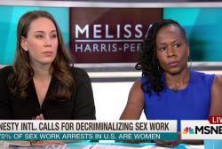 Amnesty calls for decriminalizing sex work