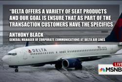 Is Delta shaming passengers?