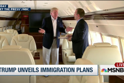 Donald Trump unveils immigration plans