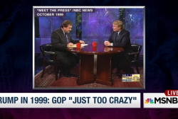 Trump in 1999: GOP is 'just too crazy'