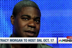 Tracy Morgan to host 'Saturday Night Live'