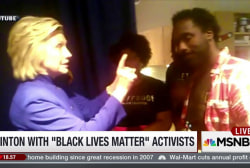 Clinton meets with 'Black Lives Matter'