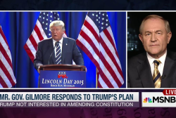 Jim Gilmore: Trump's wrong on 14th Amendment