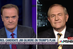 Jim Gilmore: Trump 'is wrong' on immigration