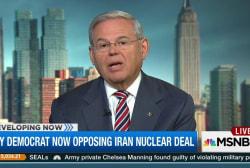 Second key Democrat to vote 'no' on Iran deal
