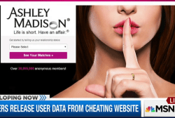 Hackers release user data from cheating...