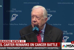 Jimmy Carter on what he's most proud of