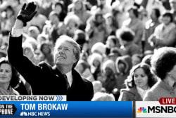 Brokaw: No better global citizen than Carter