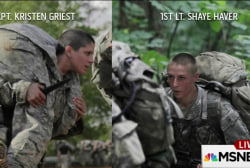History made at Army's elite Ranger school