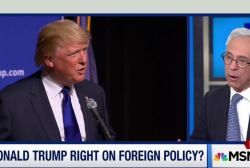 Trump defends how he forms military policy