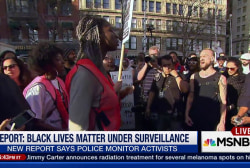 Report: Black Lives Matter under surveillance
