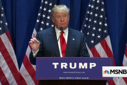 Donald Trump's politics of joy and outrage
