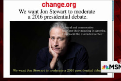 Petition: Stewart should moderate debate