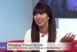 Jackie Cruz on bringing 'Flaca' to life