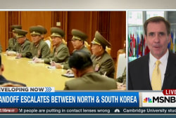 Troops on Korean Peninsula 'ready for action'