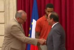 Three Americans honored in Paris