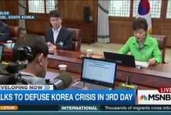 Talks to defuse Korea crisis stretch on