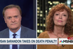 Susan Sarandon tries to save death row inmate