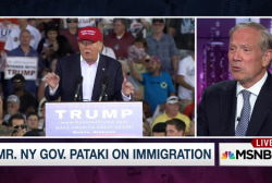 Pataki on Trump immigration plan: 'It's nuts'
