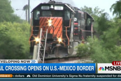 New rail crossing opens on US-Mexico border