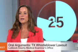 Oral Arguments: Texas Whistleblower lawsuit
