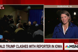 Trump clashes with reporter: who was wrong?