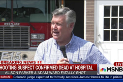Sheriff: Shooting suspect died at hospital