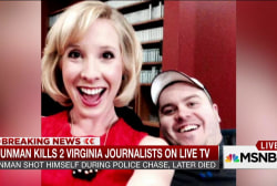 Reporter, cameraman shot dead in Virginia