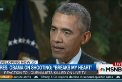 Obama: WDBJ shooting 'breaks my heart'
