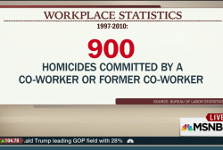 Workplace violence in focus after shooting
