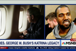 Kanye West's effect on George Bush's legacy