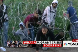 What a migrant crisis looks like