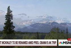 White House renames Mount McKinley