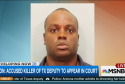Accused killer of Texas deputy in court