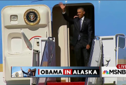 Obama calls for climate action in Alaska