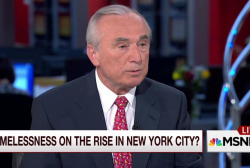 Bratton: Homelessness in NYC hit a tipping...