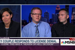 Gay couple calls license denial ...