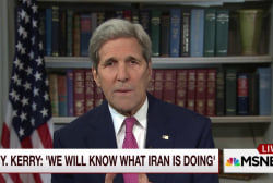 Secy. Kerry on U.S.-Iran deal