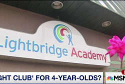 'Fight Club' for 4-year-olds?