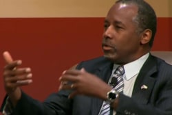 Can Carson bump Donald Trump?