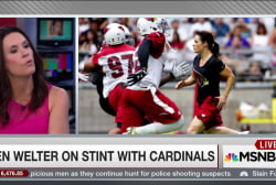 First female NFL coach speaks out