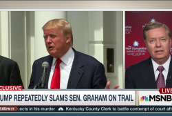 Lindsey Graham: Trump won't get my new number