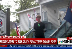 Dylann Roof to face death penalty