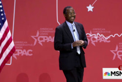 Is Ben Carson getting better?