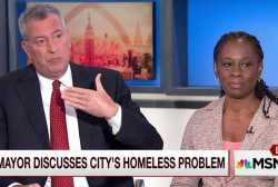 De Blasio: NYC working hard to help homeless