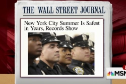 De Blasio: Safest summer in NYC in 20 years